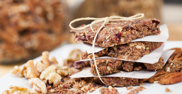 cherry pecan energy bars recipe