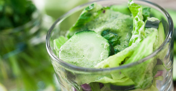 cucumber-tahini dressing recipe