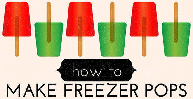 how to make frozen ice pops