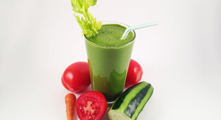 nutritious, delicious veggie smoothie