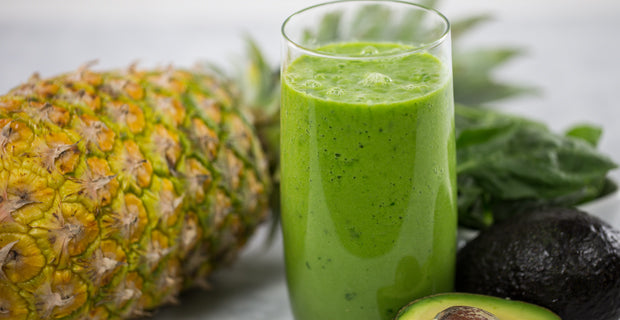 green pineapple paradise smoothie recipe