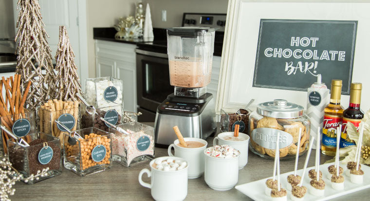 How To Host A Hot Chocolate Bar Party Blendtec
