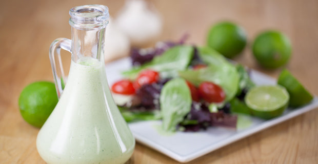 creamy lime salad dressing recipe