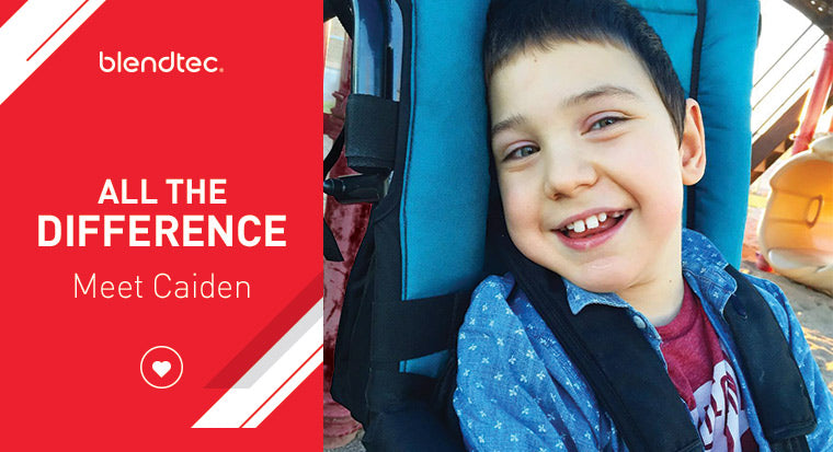 all the difference - meet Caiden