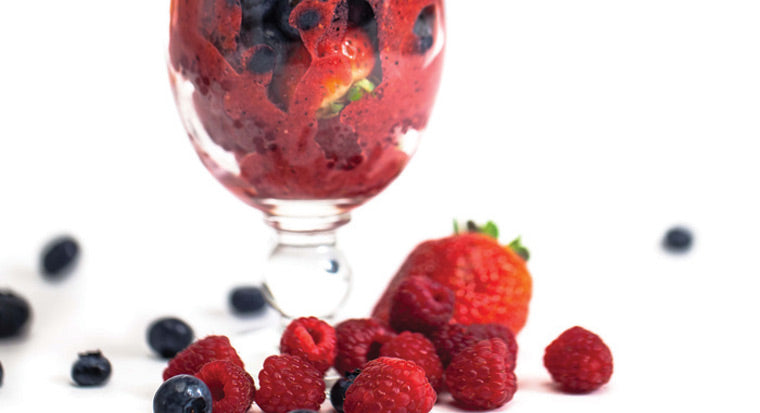 Berry omega smoothie