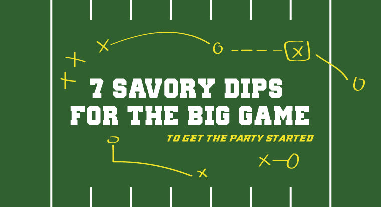 7 savory dip recipes for the big game