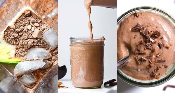 (Instant!) Keto-Friendly Chocolate Smoothie-Blendtec