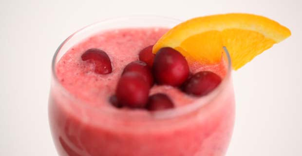 cranberry-orange smoothie recipe