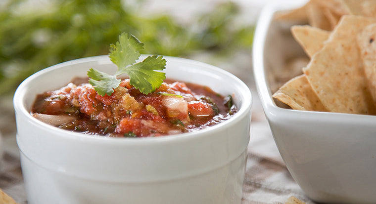 Blendtec easy salsa