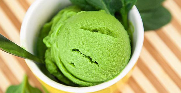 Spinach Ice Cream Recipe-Blendtec