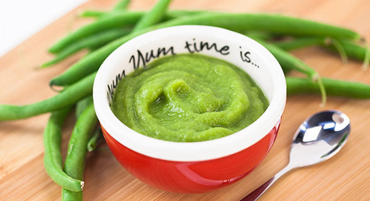 Green bean baby food blendtec blog green beans baby food recipe of the week forumfinder Images