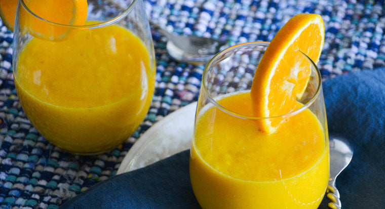 Clean-Eating Orange Carrot Smoothie | Blendtec Blog