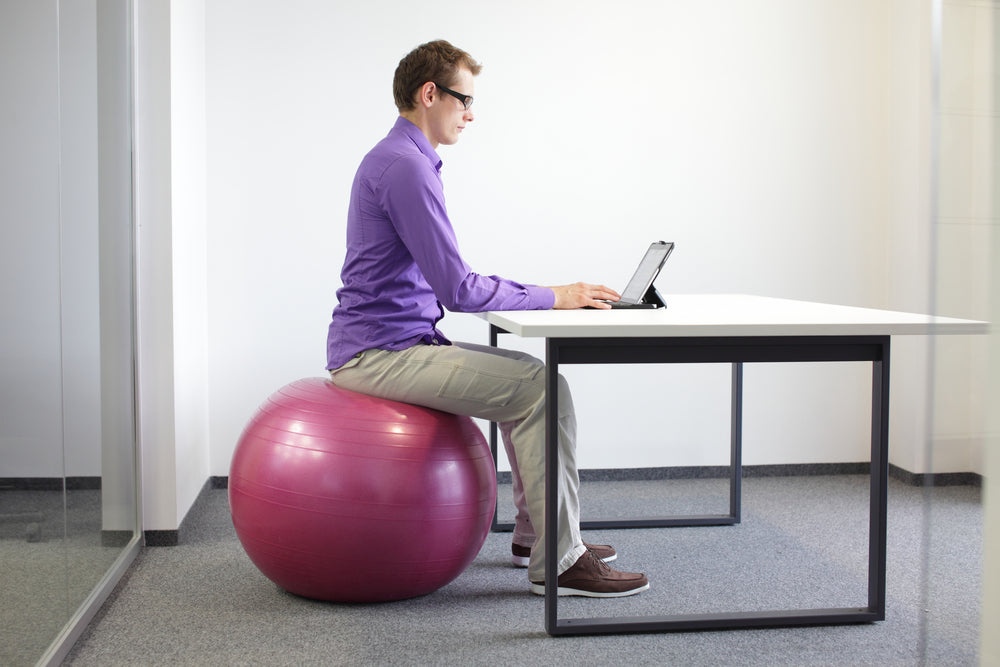 20 ways to sneak in exercise at work