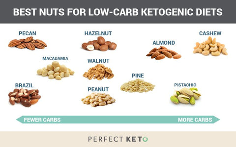 Best Nuts for Low-Carb Ketogenic Website