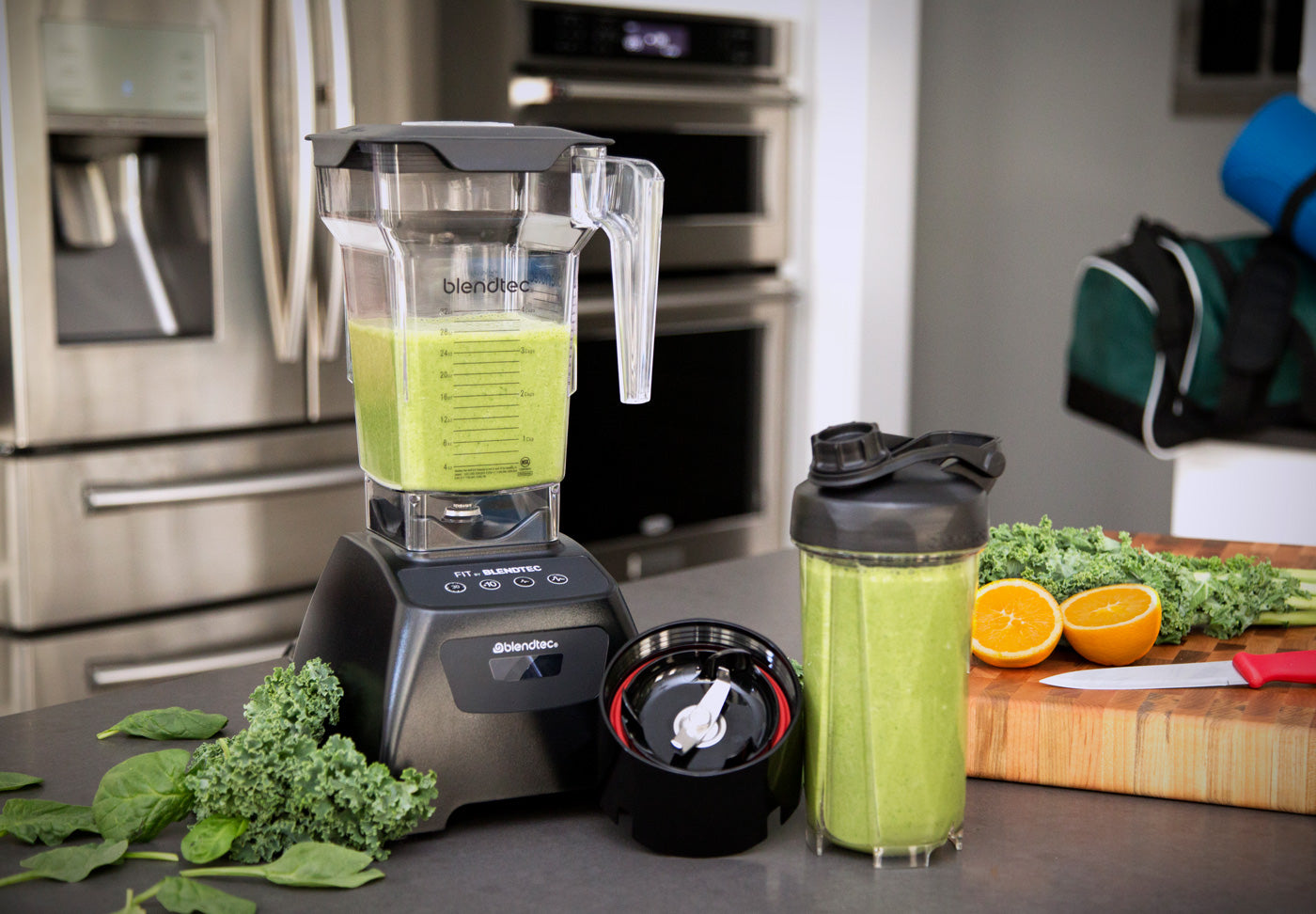 Blendtec Go Green smoothie