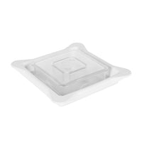Vented Gripper Lid White