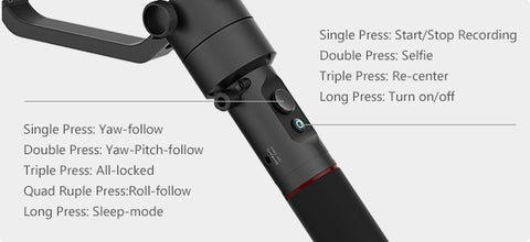 MOZA AirCross Handheld Gimbal for Mirrorless Cameras| Gudsen Official