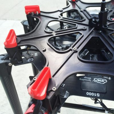 CineMilled DJI S1000 Aluminium Top Plate