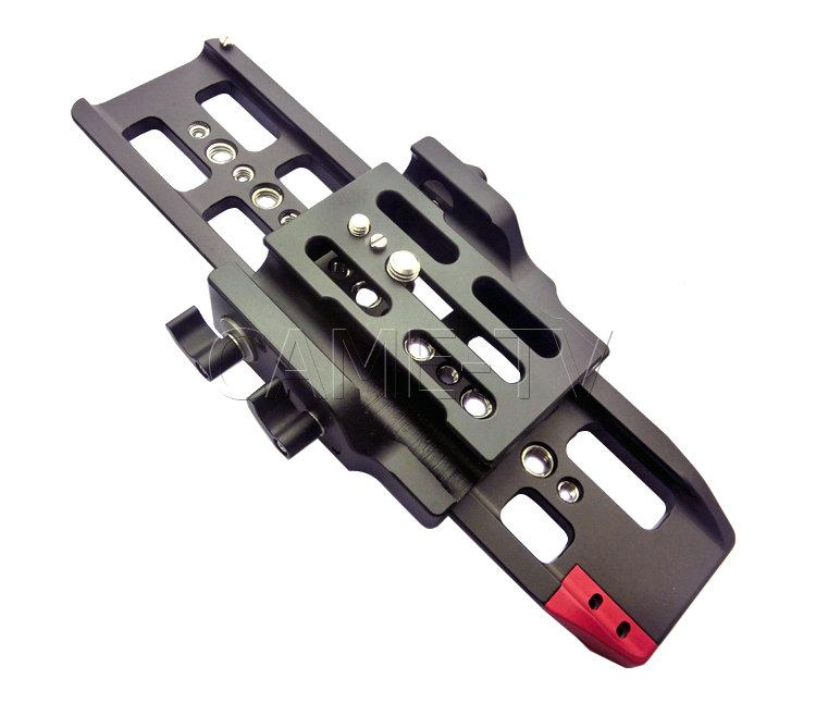 CAME-TV 15mm Baseplate Quick Release Plate Rods System FS7