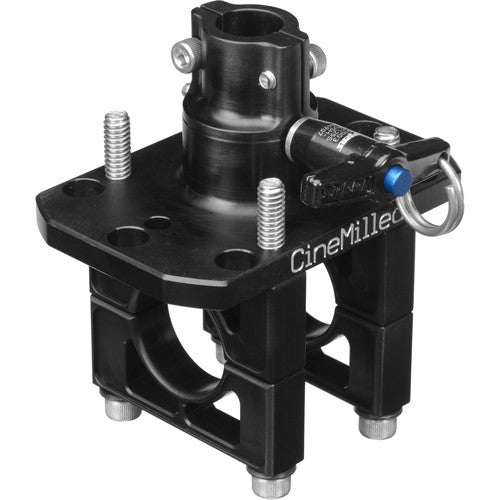 "CineMilled Steadicam Armpost Adaptor 1/2"" size"