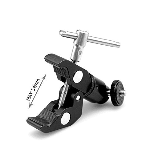 SmallRig Clamp Mount V1 w/ Ball Head Mount and CoolClamp 1124