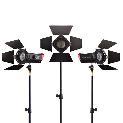 Aputure Light Storm LS-mini 20 Flight Kit with light stands
