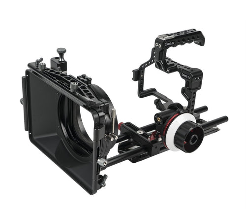 CAME-TV Protective Cage Plus For GH5 Camera With Mattebox Follow Focus