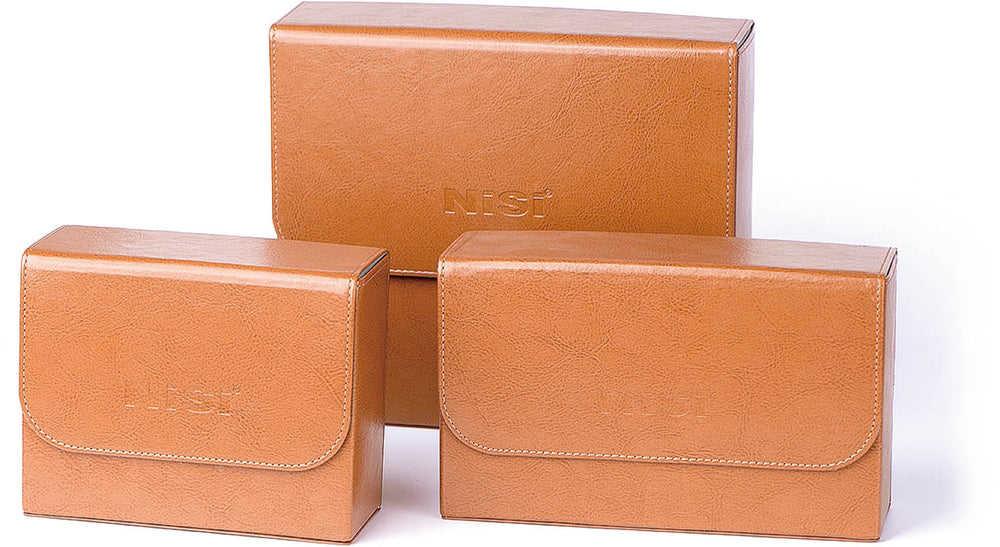 "NISI Artificial leather+Supebric - 4""x4"" Cinema filter case"