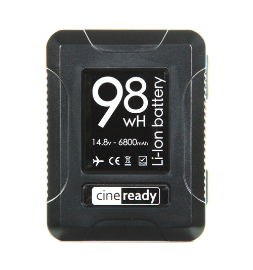 cineready 98Wh MINI V-Mount Battery