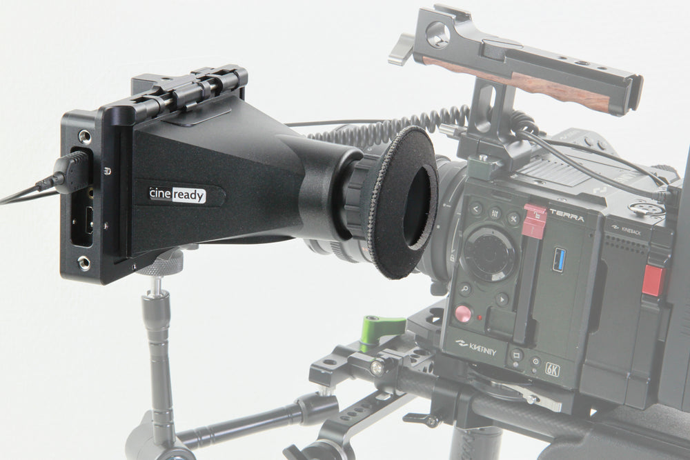 "EVF adapter cage for cineready CR-5TS 5"" monitor"