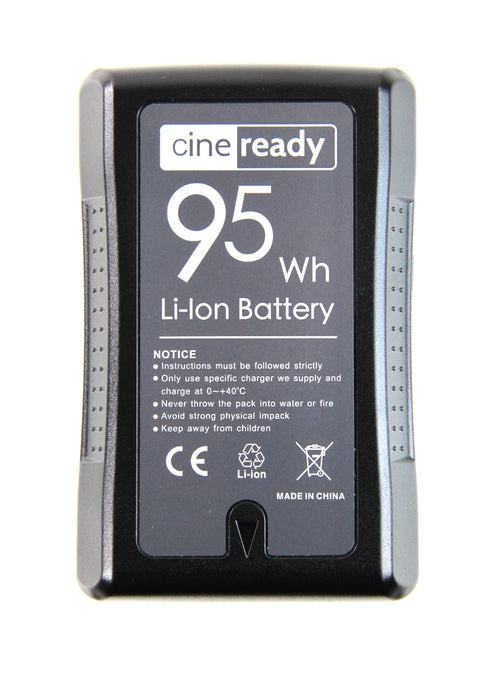 cineready 95Wh V-Mount Battery with 5V USB output