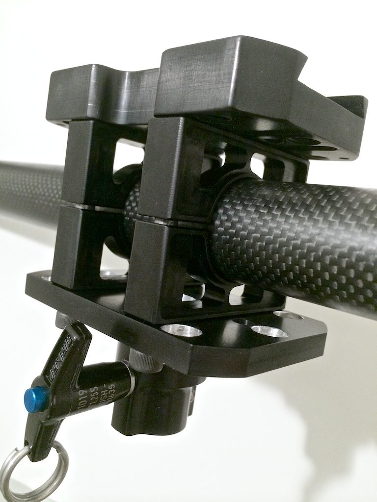 CineMilled Steadicam Armpost Adaptor 16mm size