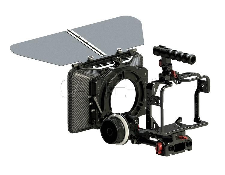 5D4-PACK CAME-TV Protective Cage Plus For 5D4 Camera With Mattebox Follow Focus