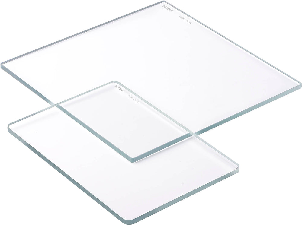 "NISI Uncoated water white pure clear - 6.6""x6.6"""