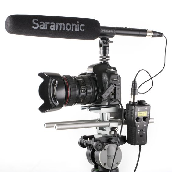 Saramonic SmartRig+ 2-Channel XLR/3.5mm Microphone Audio Mixer