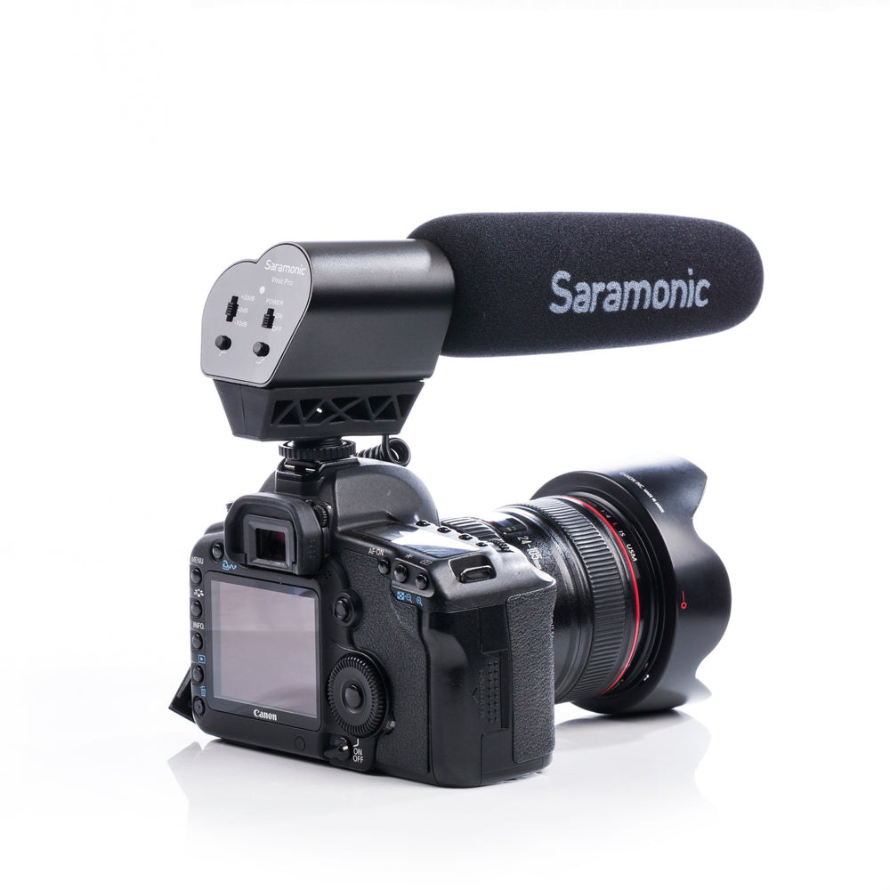 Saramonic Vmic Pro Super Directional Condenser Video Microphone