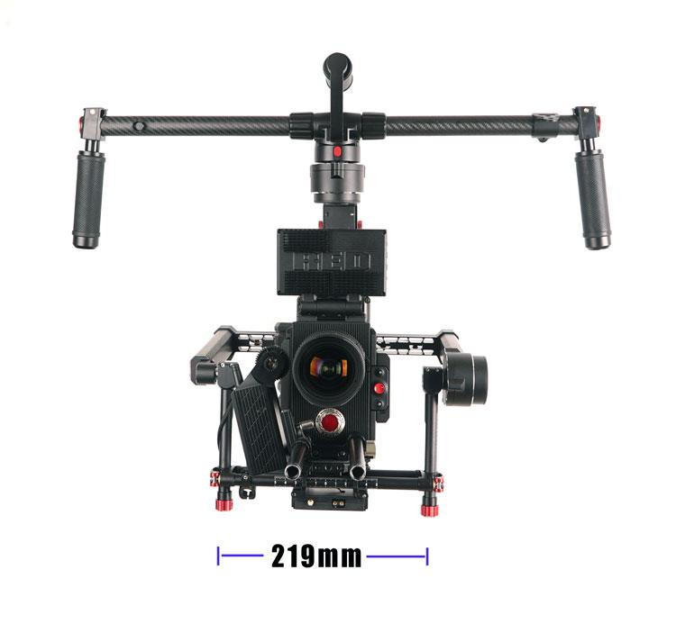 CAME-PRODIGY 3 Axis Gimbal Camera 32bit Boards With Encoders payload 7kg