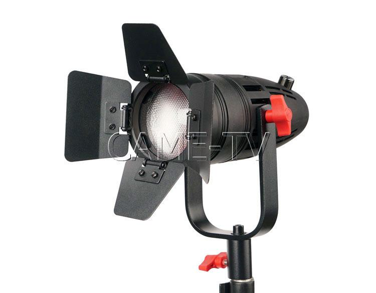 2 Pcs CAME-TV Boltzen 30w Fresnel Fanless Focusable LED Daylight Kit