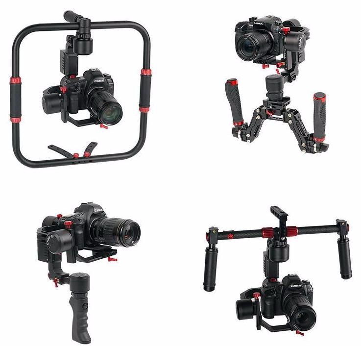 CAME-TV PROPHET 4 In 1 Gimbal with Detachable Head Payload 3kg