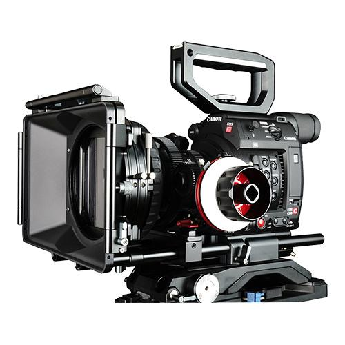 CAME-TV Shoulder Rig For Canon EOS C200 With Mattebox Follow Focus KT03