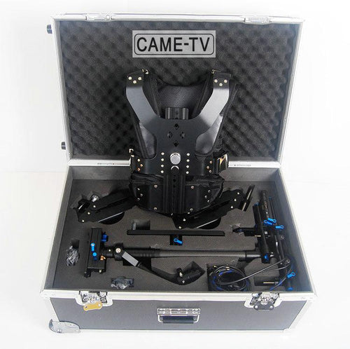 CAME-TV 2.5-15kg Load Pro Camera Steadicam With Aluminum Case
