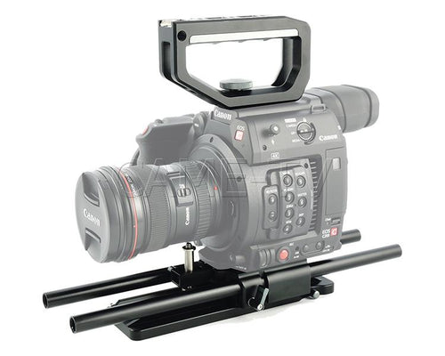 CAME-TV Top Handle And Base Plate Kit For Canon EOS C200 BS01