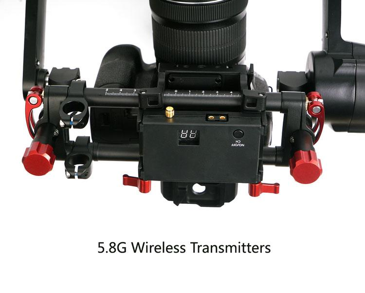 CAME-TV ARGO - 3 Axis Gimbal with Encoders - max. Payload 3kg