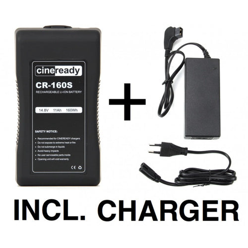 Cineready 160Wh V-Mount Battery incl. Charger