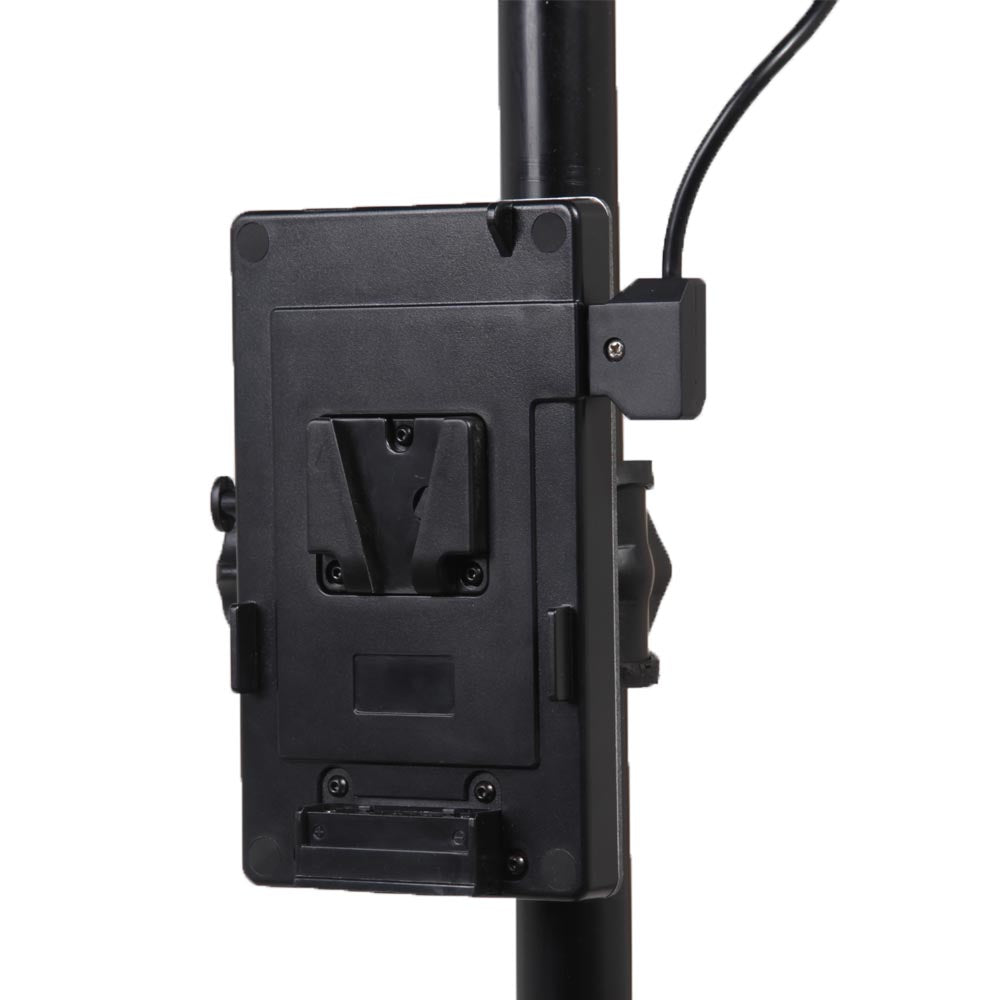 V-Mount Battery Plate with C-Clamp