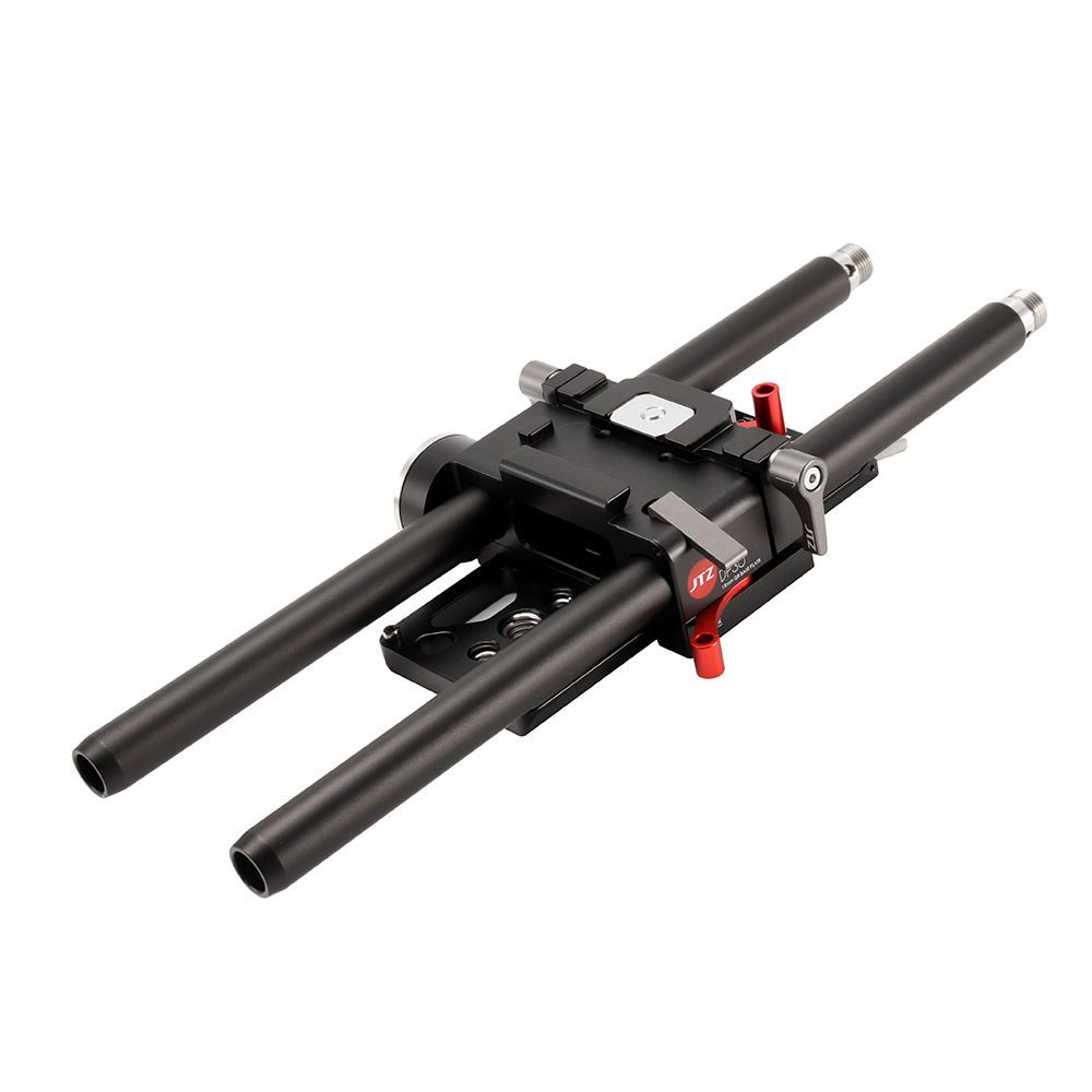 JTZ DP30 QR-50 lightweight Quick Release Baseplate 15mm Rod Rig Support (DP325)