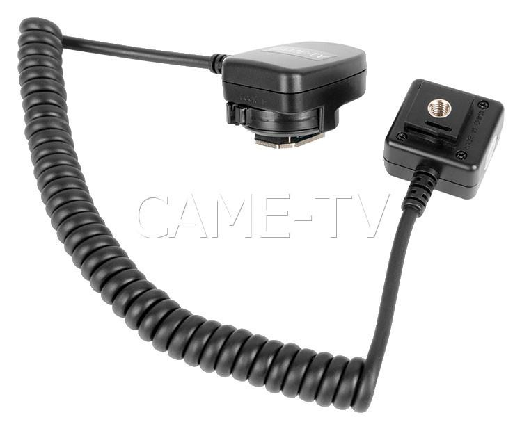 CAME-TV Off-Camera Shoe Cord OC-E3 Cable Adapter