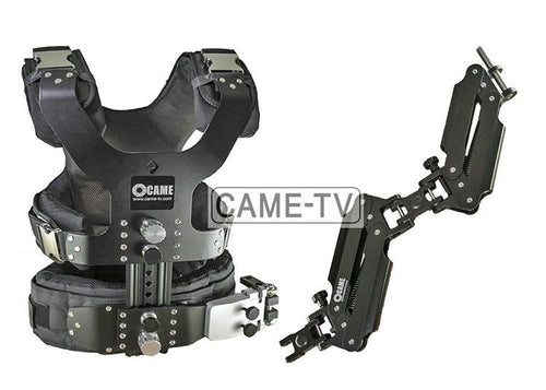 CAME-TV 2.5-15kg Load Pro Camera Steadicam Vest+ Dual Arm