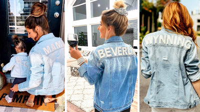JM CUSTOM DENIM JACKETS