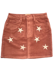 SHOOTING STAR CORDUROY SKIRT